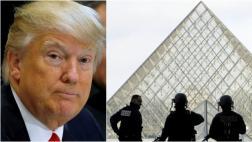 Trump alerta a EE.UU. tras ataque al Museo del Louvre
