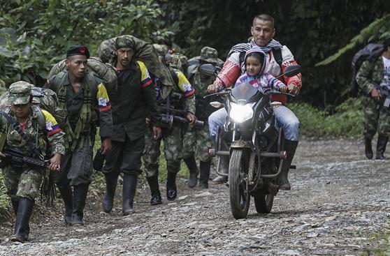 El paso irreversible hacia la paz de las FARC [FOTOS]