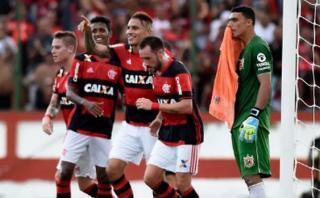 Flamengo: mira el gol de Paolo Guerrero ante Nova Iguacú