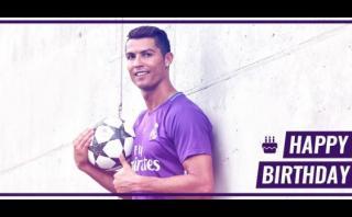 Cristiano cumple años: Real Madrid lo felicitó con este video