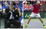 Canadá fue eliminado de la Copa Davis por pelotazo al árbitro
