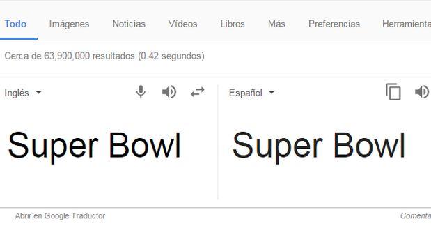 (Foto: captura Google de Traductor)