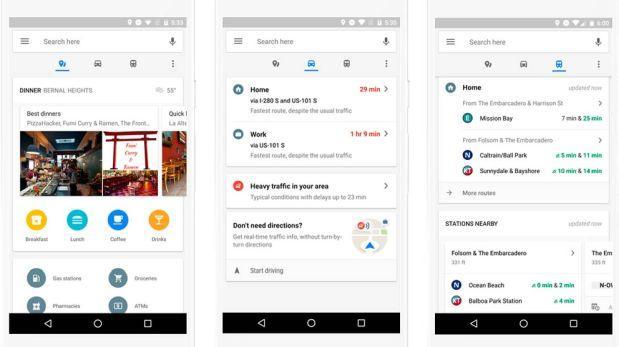 Nueva actualización de Google Maps permite navegación en tiempo real