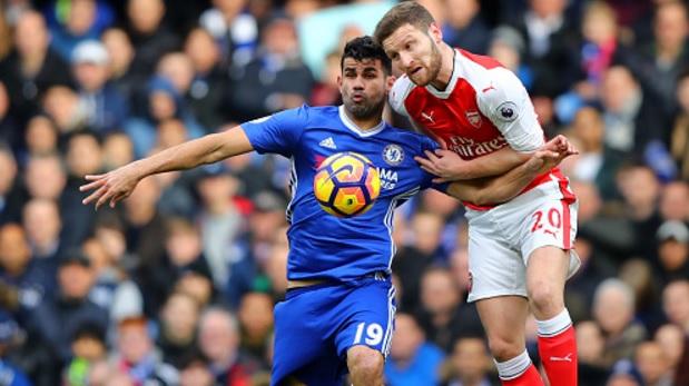 Chelsea FC se impuso con categoría (3-1) sobre el Arsenal en la fecha 24 de la Premier League (Foto: Getty)