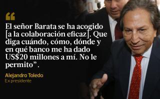 Alejandro Toledo se defendió de Caso Odebrecht con estas frases