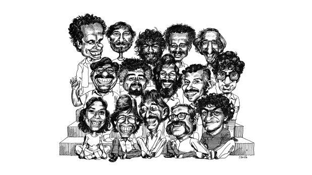 El crítico de arte Máx Hernández Calvo comenta la muestra Búmm! Historieta y humor gráfico  (Ilustración: Carlos Tovar