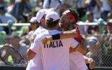 Copa Davis: Argentina perdió ante Italia en maratónica serie