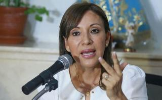 """Julia Príncipe: """"De ningún modo cabe ligarme a Alan García"""""""