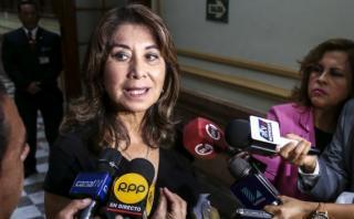 Martha Chávez acusa que Toledo buscó poder para enriquecerse