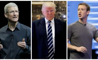 Facebook y Apple se unen contra veto migratorio de Donald Trump