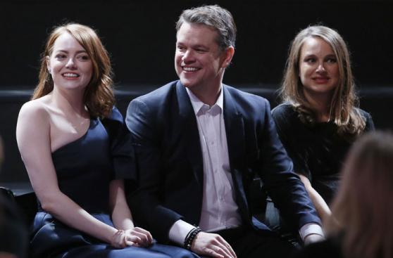 Oscar: nominados se reunieron en glamoroso almuerzo [FOTOS]