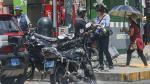 Informales usan motos lineales para dar servicio de colectivo - Noticias de informalidad