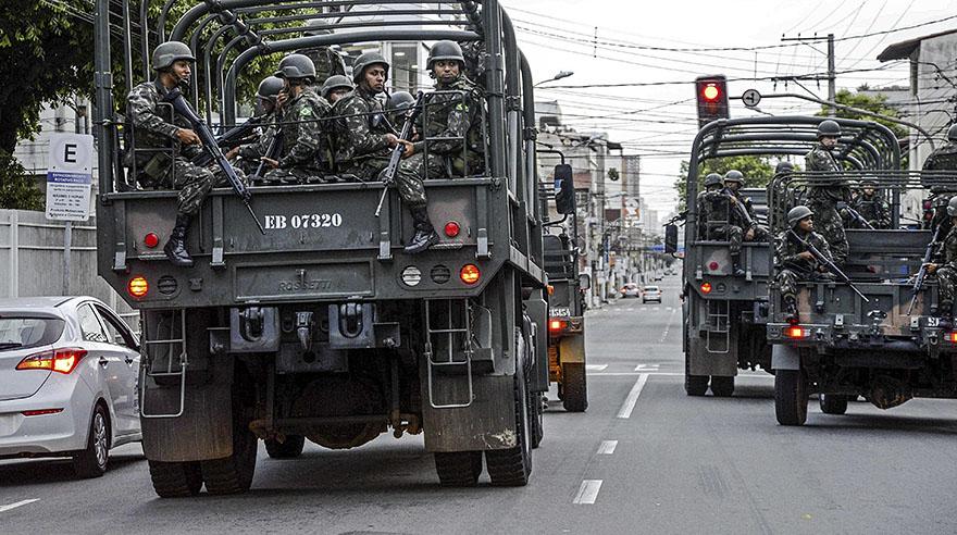 Brasil: El Ejército no logra frenar la violencia en las calles