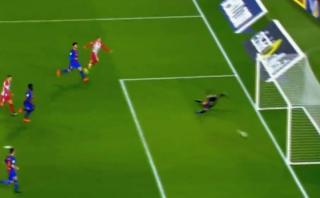 Atlético: a Griezmann le anularon gol legítimo ante Barcelona