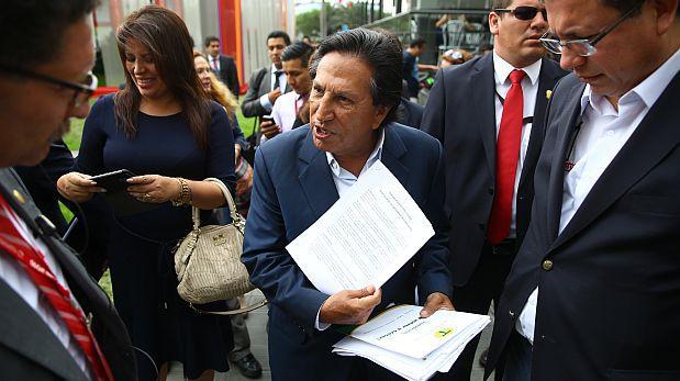 Alejandro Toledo: fiscalía pide prisión preventiva por 18 meses