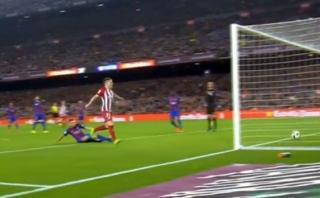 Atlético: el gol que ilusionó a los colchoneros ante Barcelona