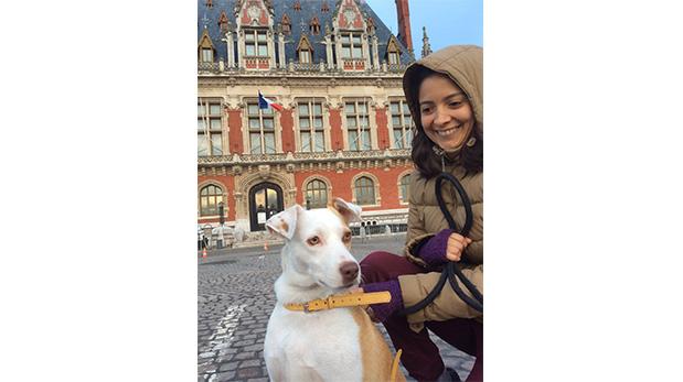 [Foto] Con Lizzy hasta en otro continente