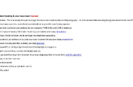 hacker anonimi hanno attaccato siti pedopornografici