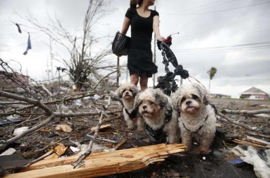 Así quedó el sureste de Luisiana tras el paso de los tornados