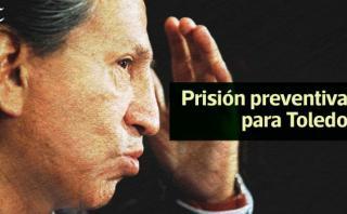 ¿Qué es la prisión preventiva que se pidió contra Toledo?
