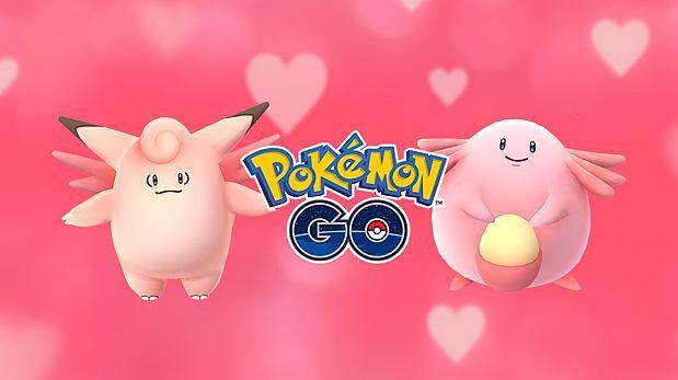Pokémon Go anuncia evento para el Día de los Enamorados