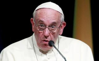 """Francisco pide erradicar la """"plaga"""" de la trata de personas"""