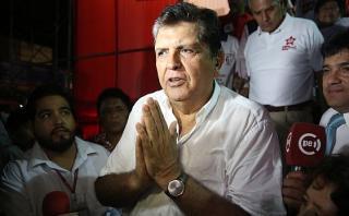 Militante aprista denunció a Alan García por lavado de activos