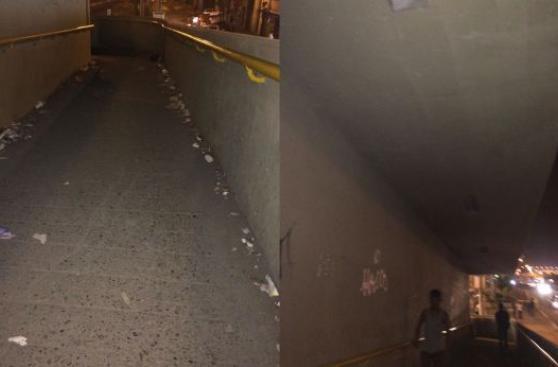 VMT: vecinos piden iluminación en puente Pachacútec
