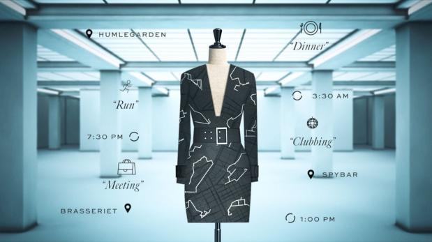 Vestido ideado por Google se generará a partir de tus hábitos