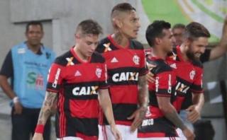 Con Paolo Guerrero y Miguel Trauco: Flamengo ganó 2-0 al Gremio