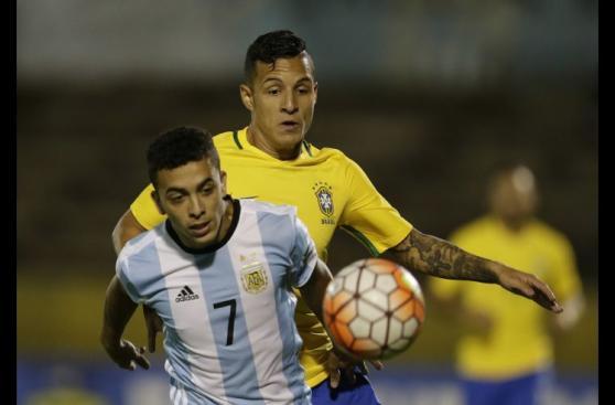 Argentina vs. Brasil: postales del empate en el Sudamericano