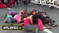 Uruguay: mujeres protestaron en calles ante ola de feminicidios