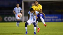 Argentina igualó 2-2 ante Brasil y sigue con vida en Sub 20