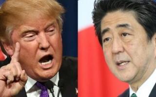 Desafío para Abe en EEUU: vender Japón a Trump y Trump a Japón