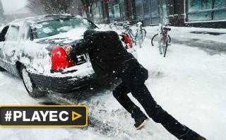 EE.UU.: Vuelos y clases cancelados por tormenta de nieve