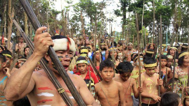 Grupo de ochenta nativos toma centro de salud en Loreto