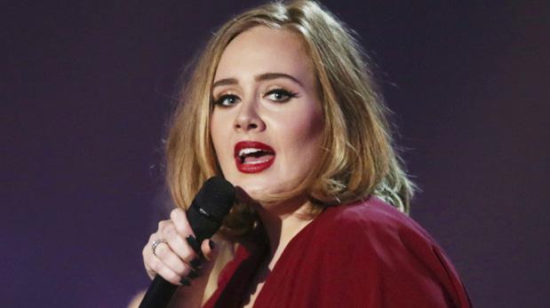 Adele está nominada y cantará en la 59 edición de los premios Grammy. (Foto: Reuters)