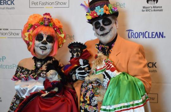 Mascotas se lucieron en desfile de moda en Nueva York [FOTOS]