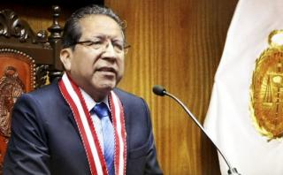 Fiscal de la Nación dice que fallo contra Toledo es histórico