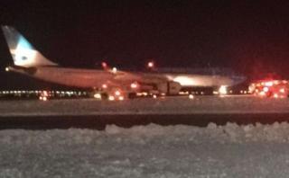 Motor de avión explotó antes de partir de aeropuerto de EE.UU.