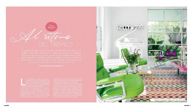 Conoce lo nuevo en diseño internacional con revista Casa y Más