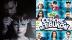 """""""50 sombras más oscuras"""" vs """"Cebiche de Tiburón"""": la taquilla - Noticias de 50 sombras de grey"""