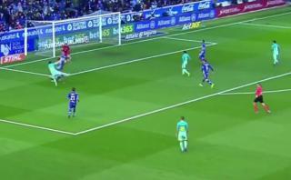 El golazo de Lionel Messi al Alavés con túnel previo [VIDEO]