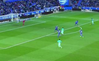 Messi, Neymar y Suárez participaron en este golazo del Barza
