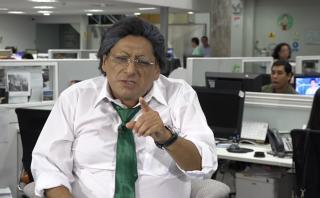 """""""Alejandro Toledo"""" visitó la redacción de El Comercio"""