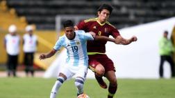 Argentina venció 2-0 a Venezuela por Hexagonal del Sudamericano