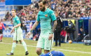 Barcelona: Aleix Vidal será baja hasta final de temporada