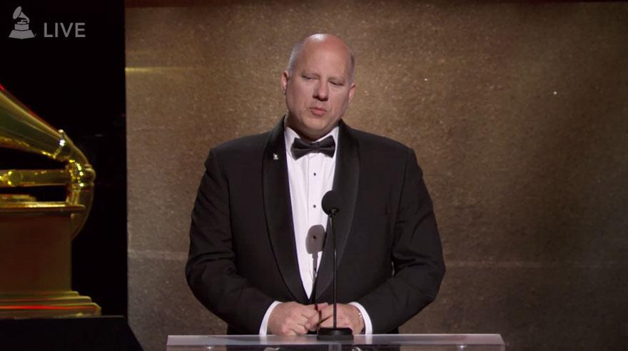 Ceremonia no televisada de los premios Grammy. (Foto: Captura de pantalla)