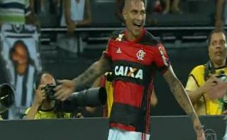 Paolo Guerrero imparable: anotó ante Botafogo en Torneo Carioca