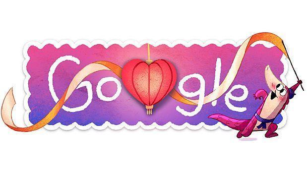 El doodle de Google se vuelve interactivo para celebrar San Valentín